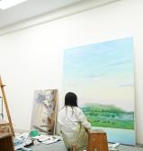 油画専攻アトリエ