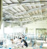 テキスタイル棟実習室スクエアラボ
